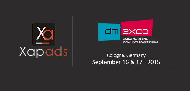 Xapads at Dmexco 2015 – Come Join Us!