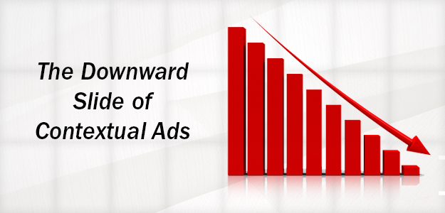 The Downward Slide of Contextual Ads