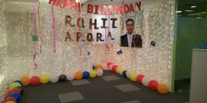Rohit Sir Birthday Celebration