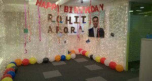 Rohit Sir Birthday Celebration