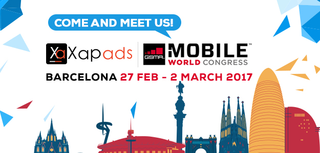 Meet Xapads at Mobile World Congress 2017, Barcelona