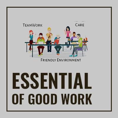 Essentials of a good work culture