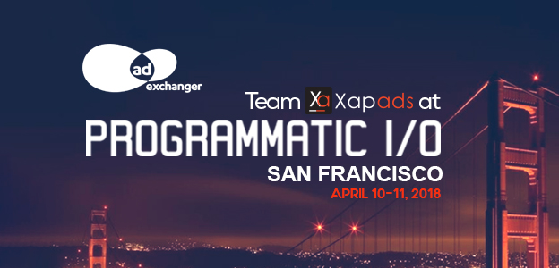 Meet Team Xapads at Adexchanger Programmatic I/O, San Francisco