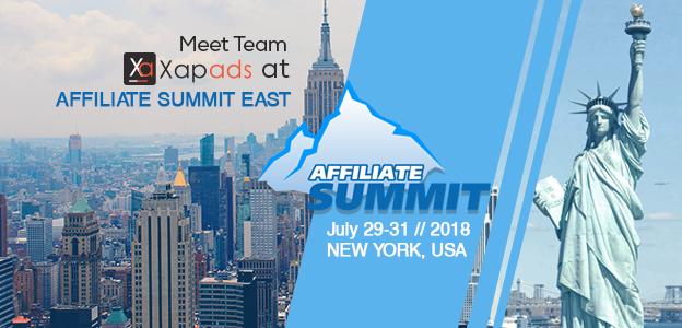 Meet Team Xapads at Affiliate Summit East 2018